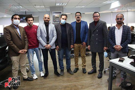 مجلس تحرير موقع تحيا مصر يزور اليوم السابع (5)