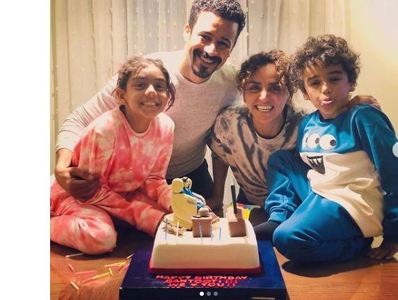 عائلة أحمد داود وعلا رشدي