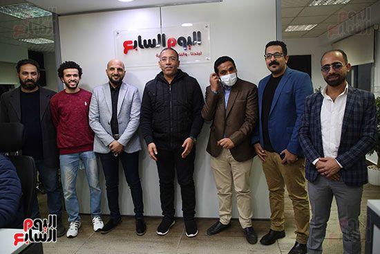مجلس تحرير موقع تحيا مصر يزور اليوم السابع (7)