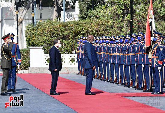الرئيس عبد الفتاح السيسى و نظيره الكونغولى