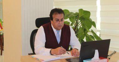 وزير التعليم العربي الدكتور خالد عبد الغفار