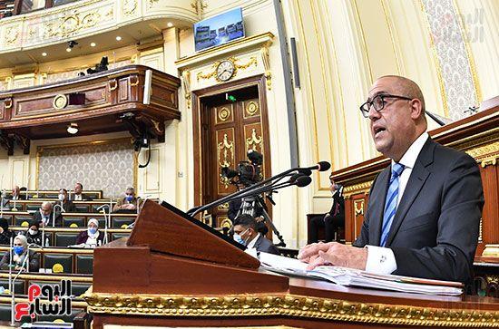 جلسة مجلس النواب برئاسة المستشار الدكتور حنفي جبالي (12)