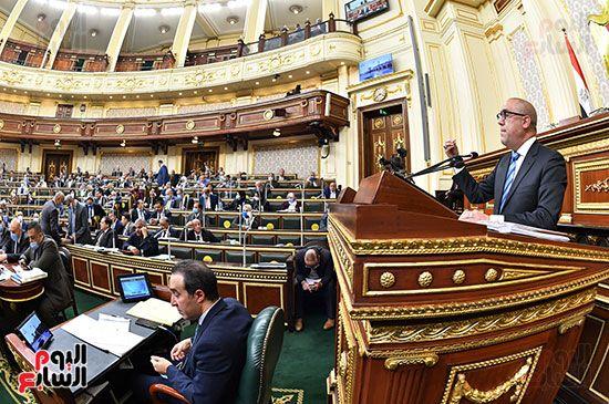 جلسة مجلس النواب برئاسة المستشار الدكتور حنفي جبالي (13)