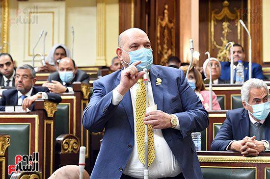 الجلسة المسائية بحضور عاصم الجزار وزير الاسكان (12)