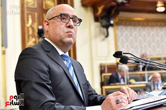 الجلسة المسائية بحضور عاصم الجزار وزير الاسكان (20)