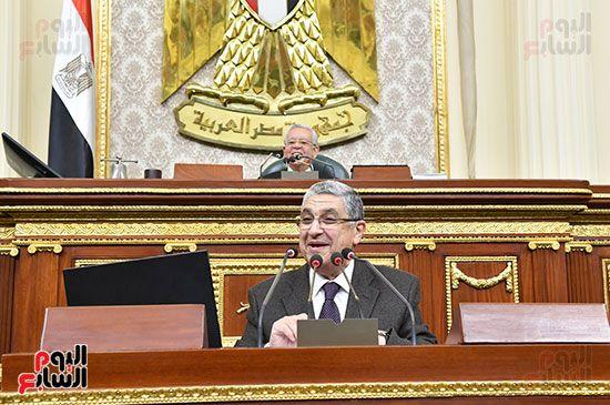 جلسة مجلس النواب برئاسة المستشار الدكتور حنفي جبالي (1)
