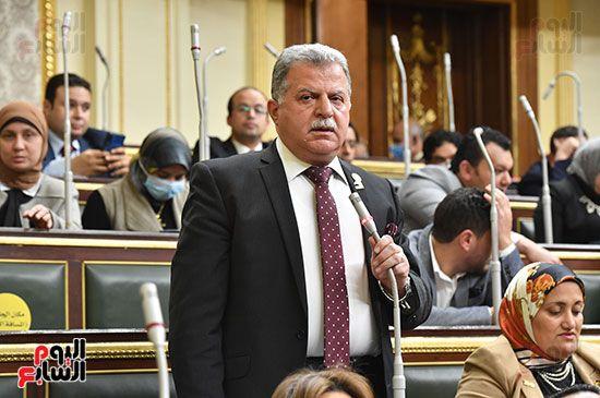الجلسة المسائية بحضور عاصم الجزار وزير الاسكان (10)