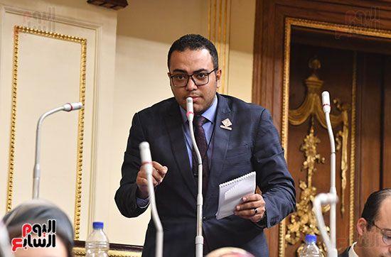 جلسة مجلس النواب برئاسة المستشار الدكتور حنفي جبالي (27)