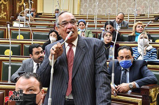 جلسة مجلس النواب برئاسة المستشار الدكتور حنفي جبالي (26)