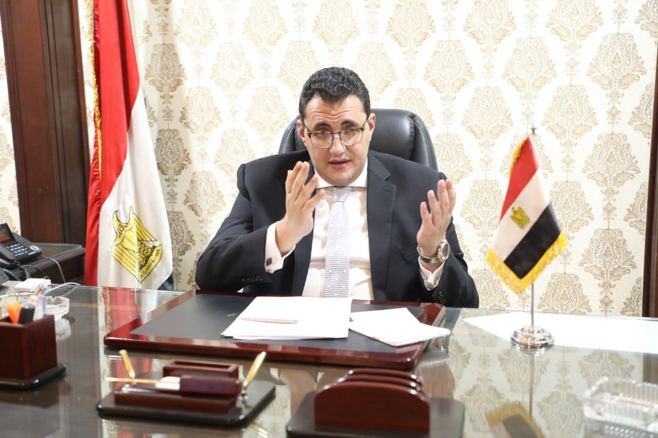 الدكتور خالد مجاهد المتحدث الرسمى باسم وزارة الصحة والسكان
