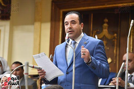 الجلسة المسائية بحضور عاصم الجزار وزير الاسكان (8)