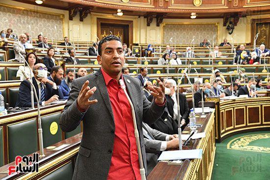 جلسة مجلس النواب برئاسة المستشار الدكتور حنفي جبالي (24)