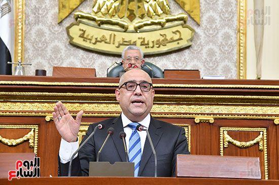 جلسة مجلس النواب برئاسة المستشار الدكتور حنفي جبالي (7)