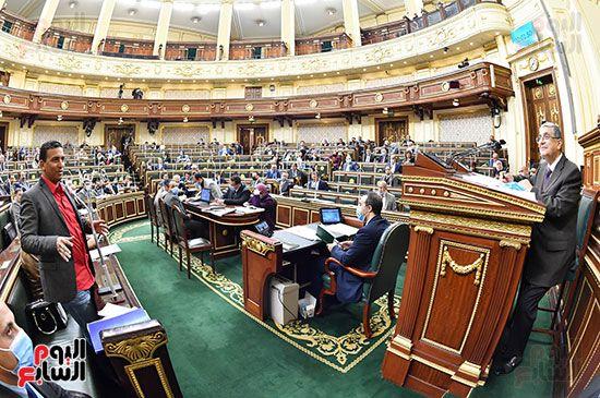 جلسة مجلس النواب برئاسة المستشار الدكتور حنفي جبالي (23)