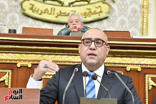 جلسة مجلس النواب برئاسة المستشار الدكتور حنفي جبالي (3)