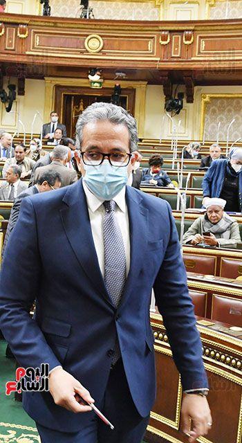 المناقشة النيابية لوزير الأثار والسياحة الدكتور خالد العناني (5)