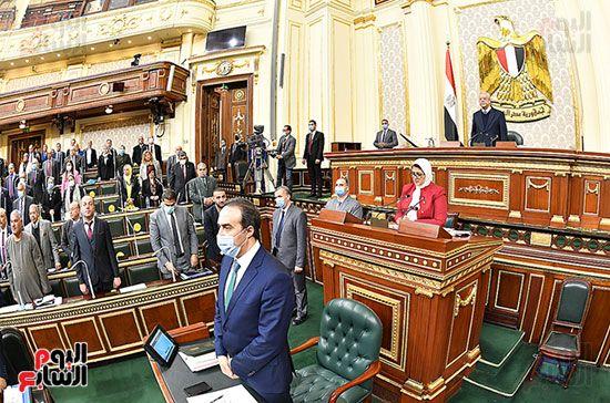 الجلسة المسائية لمجلس النواب (1)