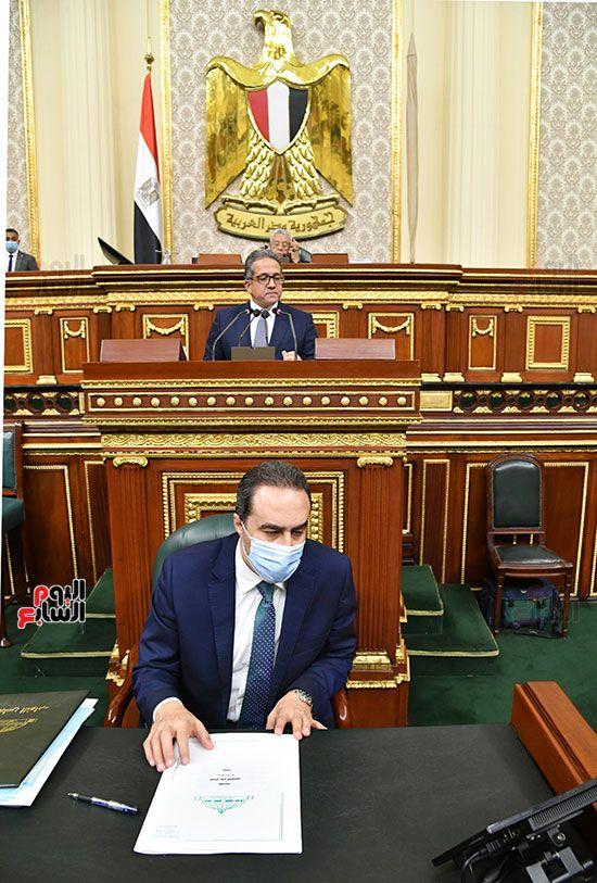 المناقشة النيابية لوزير الأثار والسياحة الدكتور خالد العناني (13)
