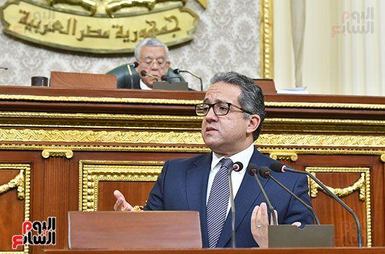 المناقشة النيابية لوزير الأثار والسياحة الدكتور خالد العناني (12)