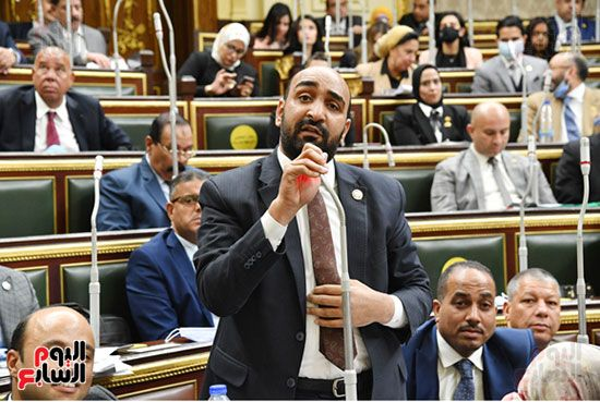 الجلسة المسائية لمجلس النواب (5)