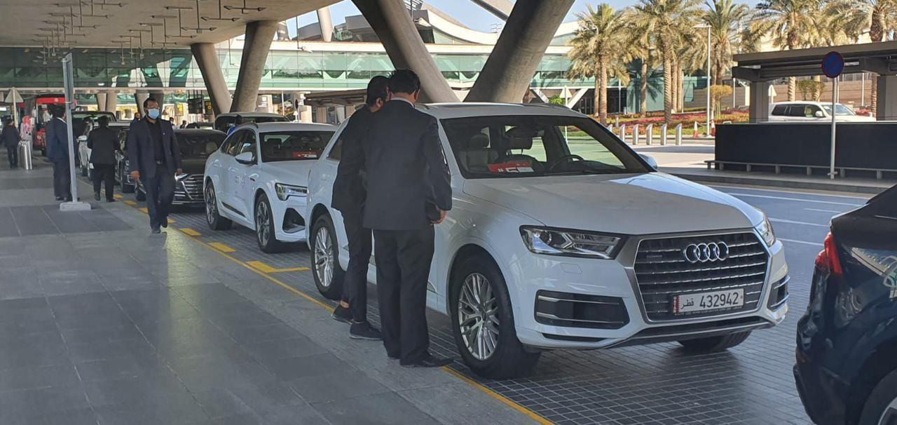 سيارات خاصة لاستقبال بعثة البايرن
