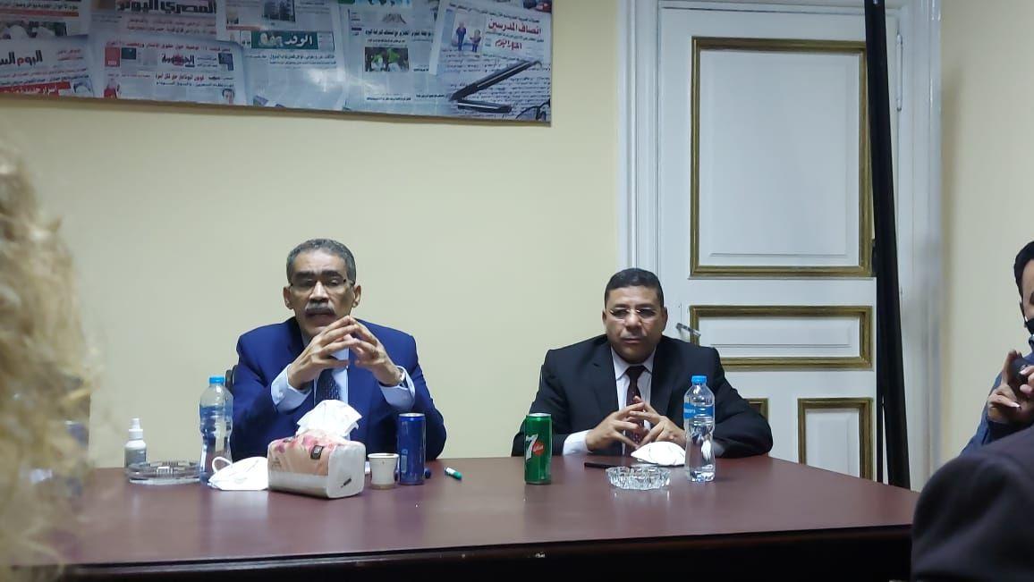 ضياء رشوان نقيب الصحفيين (3)