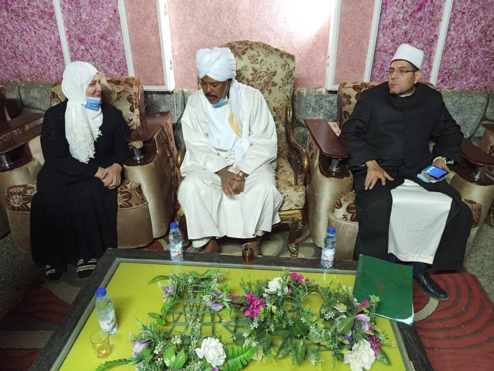 زيارة أئمة ووزاعظات الأوقاف بولاية دارفور - Copy