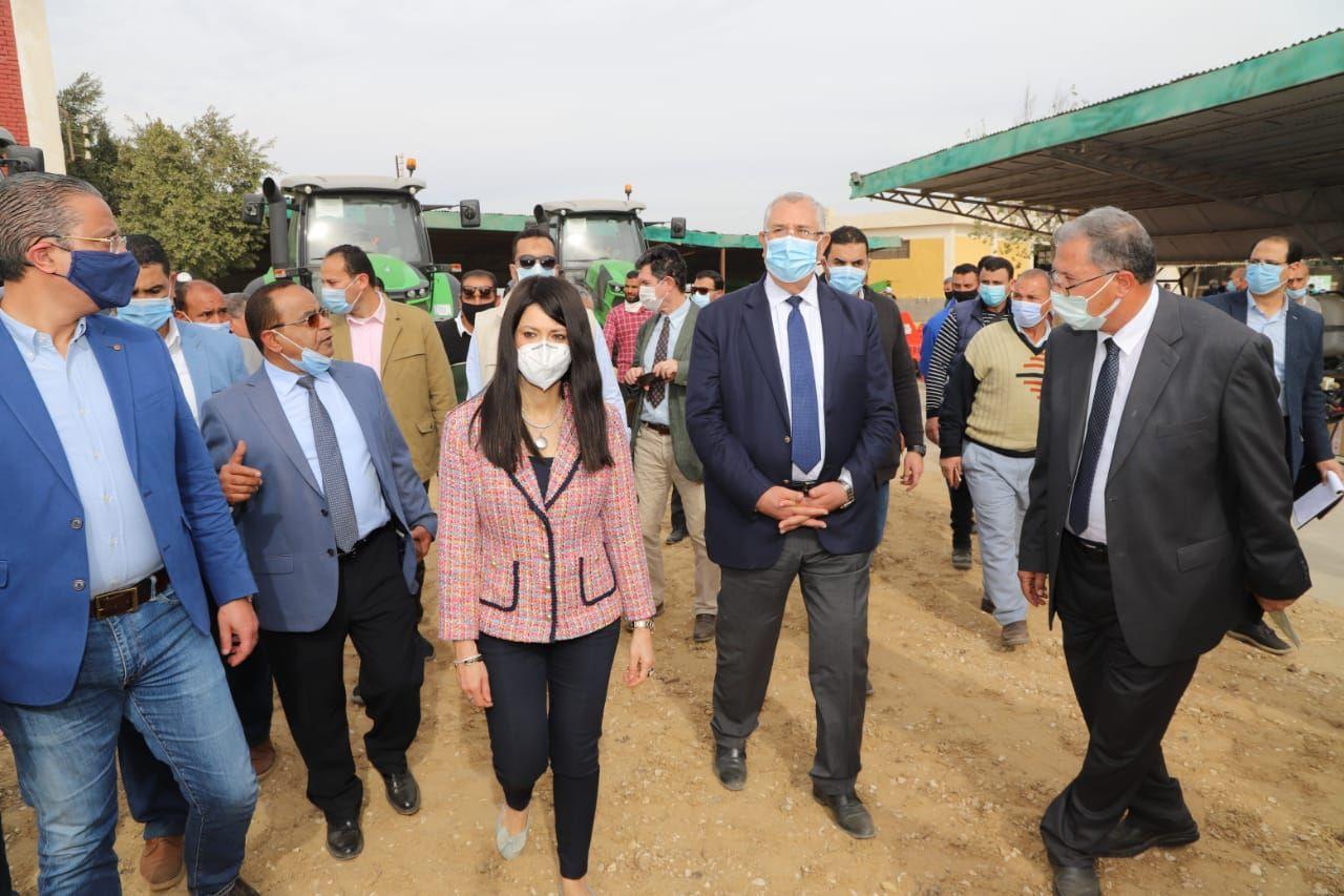 وزيرا التعاون الدولي والزراعة (2)