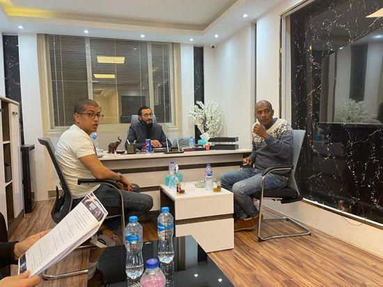الفنان أمير صلاح الدين ينضم لأسرة فيلم أمير أل هارون (3)