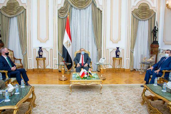وزير-الدولة-للإنتاج-الحربي-يناقش-مع-السفير-البولندي-سبل-تعزيز-التعاون-المشترك