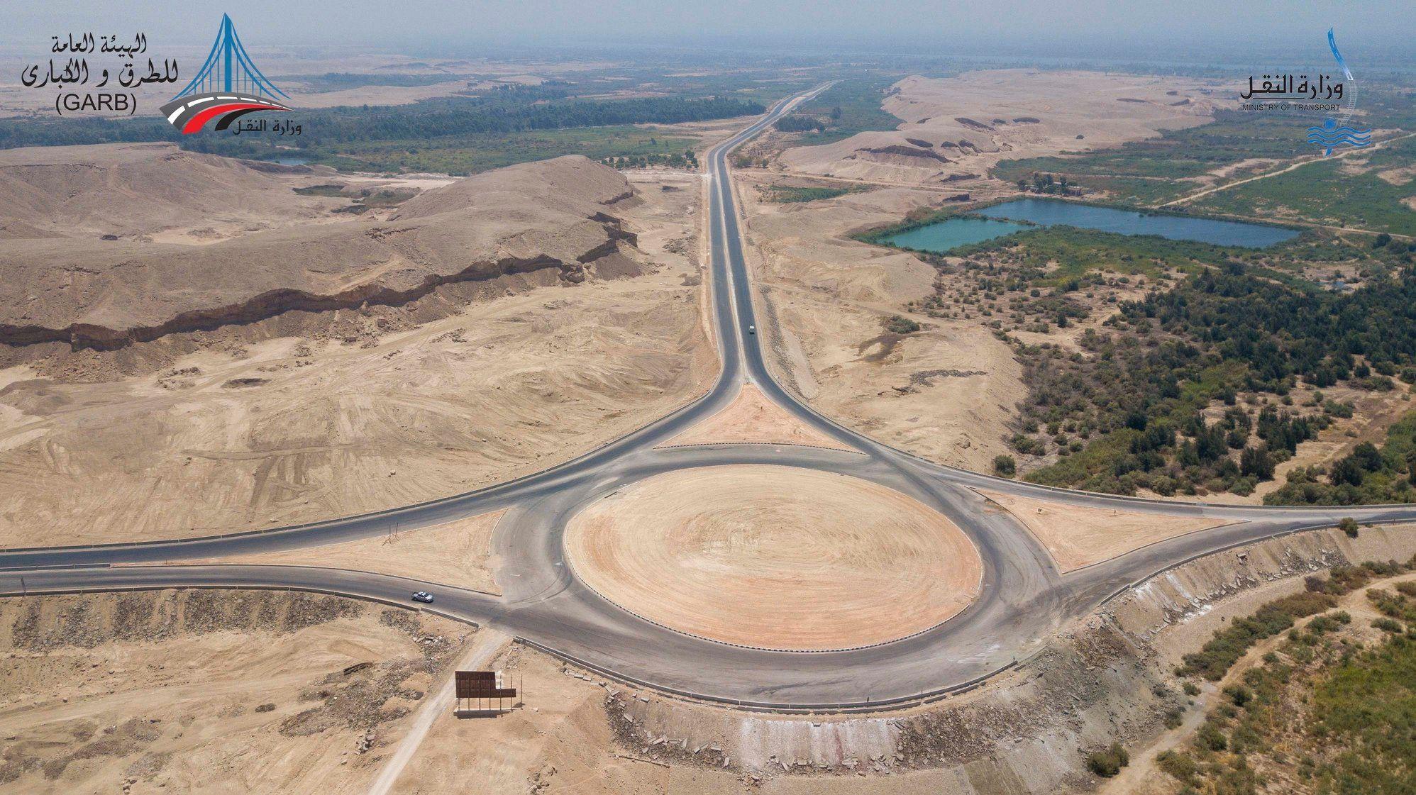 طريق أسيوط سوهاج شرق النيل (4)