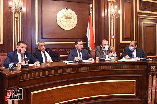 اجتماع لجنة الصناعة بمجلس النواب (1)