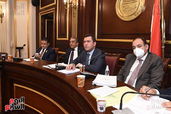 اجتماع لجنة الصناعة بمجلس النواب (7)