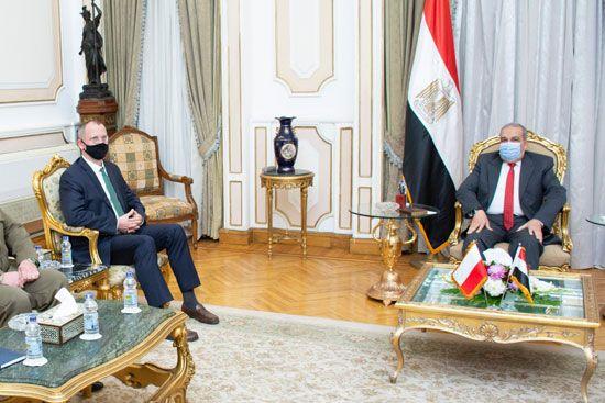 وزير-الدولة-للإنتاج-الحربي-يناقش-مع-السفير-البولندي-وشركة-PGZ-سبل-تعزيز-التعاون-المشترك
