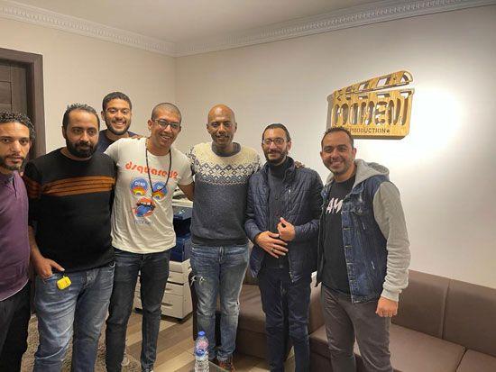 الفنان أمير صلاح الدين ينضم لأسرة فيلم أمير أل هارون (6)