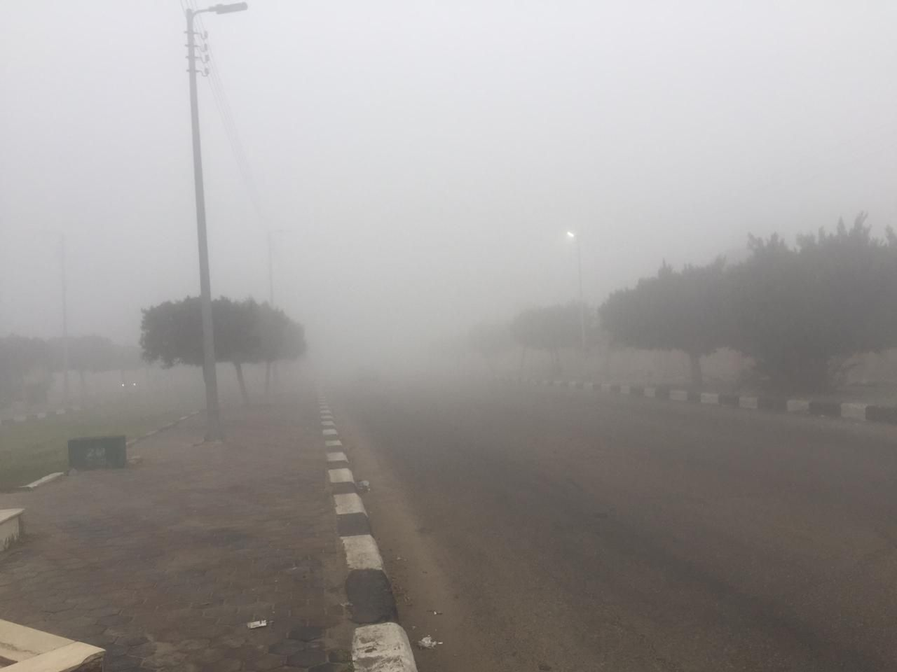 غلق طريق الإسماعيلية – القاهرة (1)