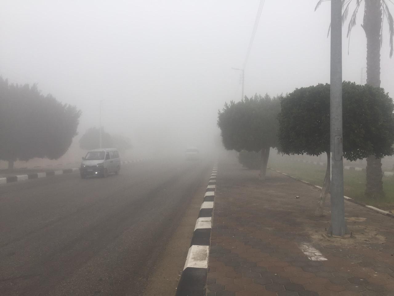 غلق طريق الإسماعيلية – القاهرة (8)
