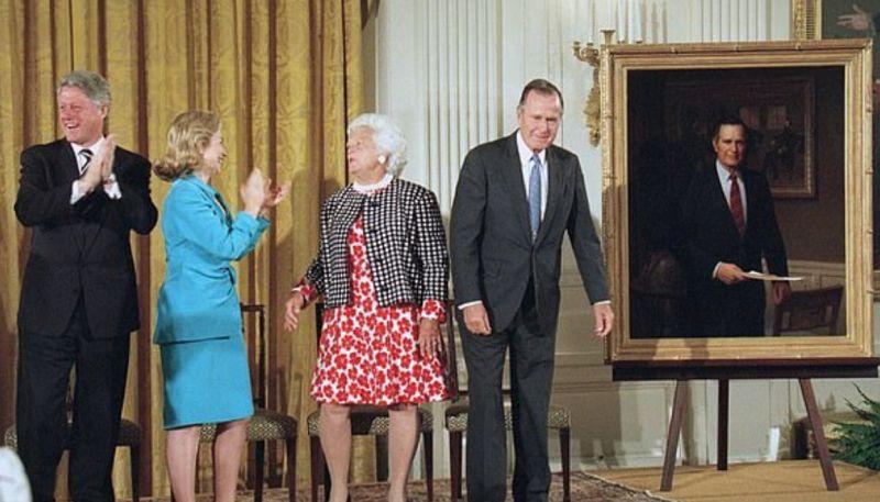 هل يدعو بايدن ترامب إلى حفل البورتريه ؟ (1)