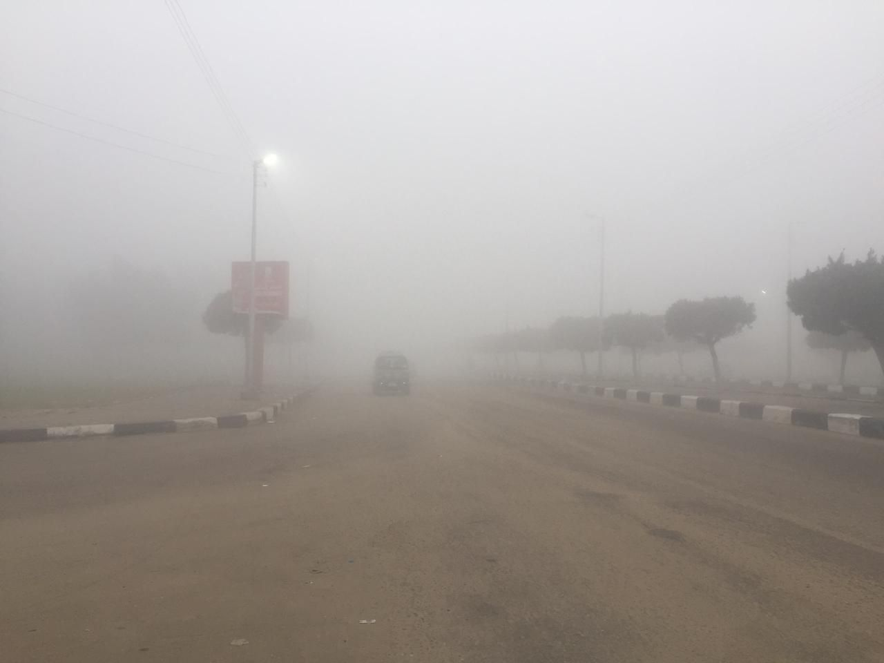 غلق طريق الإسماعيلية – القاهرة (6)