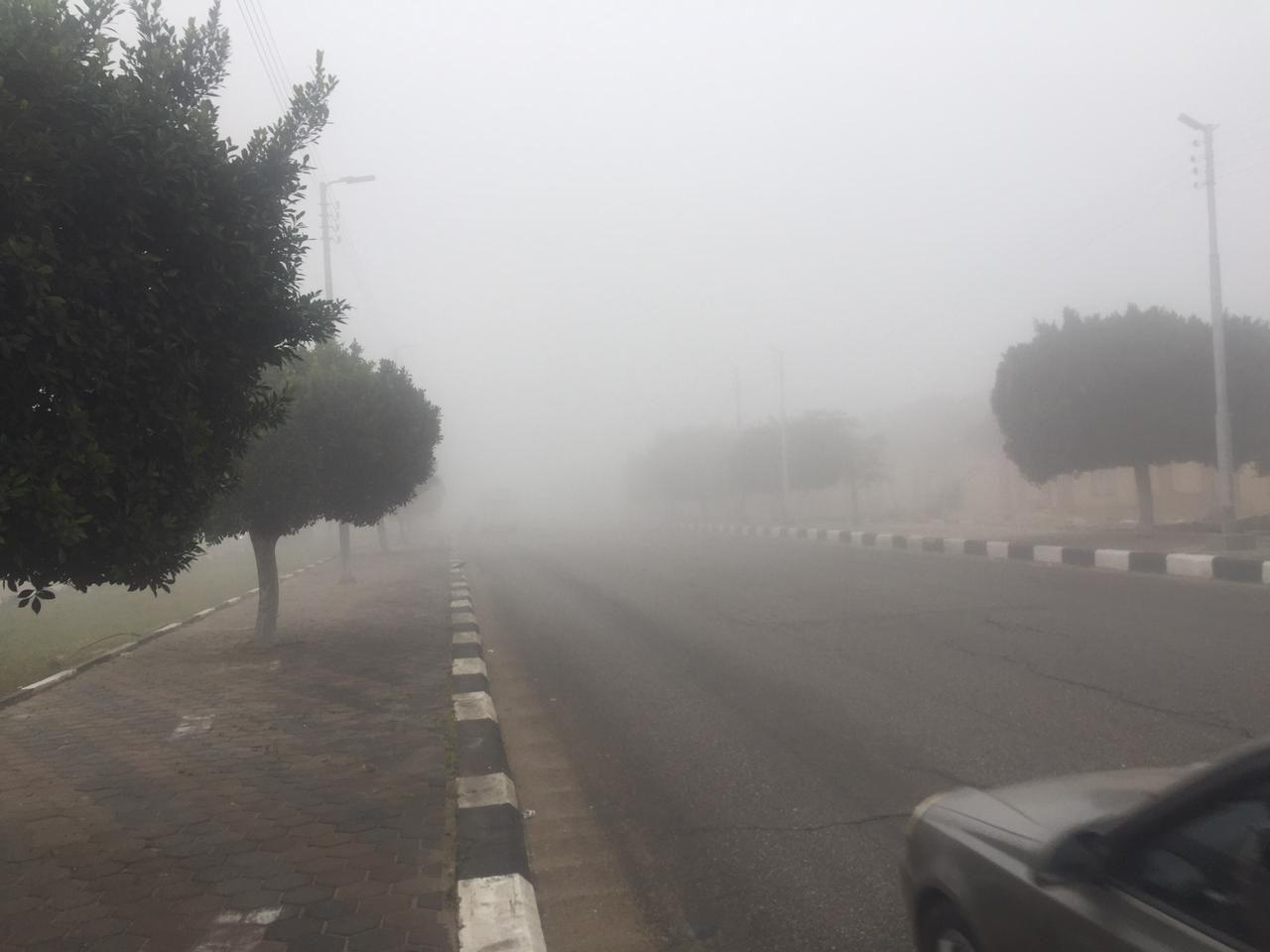 غلق طريق الإسماعيلية – القاهرة (5)
