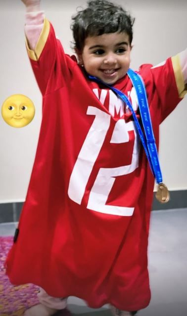 ايمن أشرف يحتفل بالبرونزية