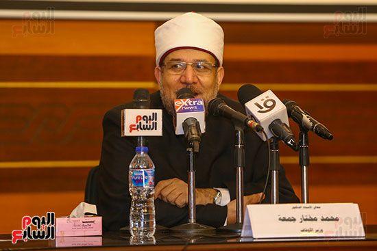 وزير الأوقاف يكرم أئمة وواعظات قافلة الأوقاف (19)
