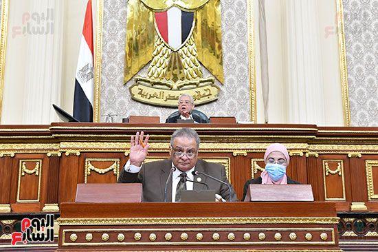 جلسة مجلس النواب برئاسة المستشار الدكتور حنفي جبالي (11)