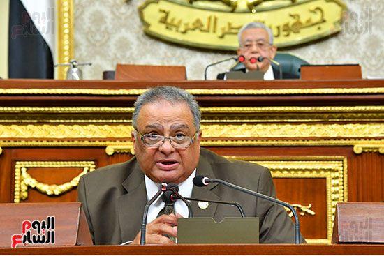جلسة مجلس النواب برئاسة المستشار الدكتور حنفي جبالي (17)
