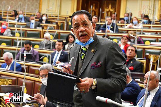 جلسة مجلس النواب برئاسة المستشار الدكتور حنفي جبالي (28)