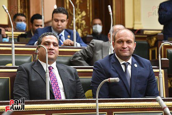 جلسة مجلس النواب برئاسة المستشار الدكتور حنفي جبالي (5)