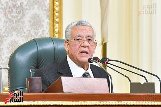 جلسة مجلس النواب برئاسة المستشار الدكتور حنفي جبالي (16)