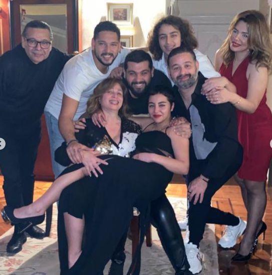 عائلة الهام شاهين