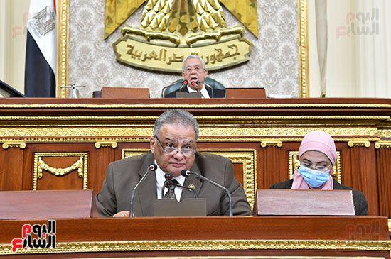 جلسة مجلس النواب برئاسة المستشار الدكتور حنفي جبالي (10)