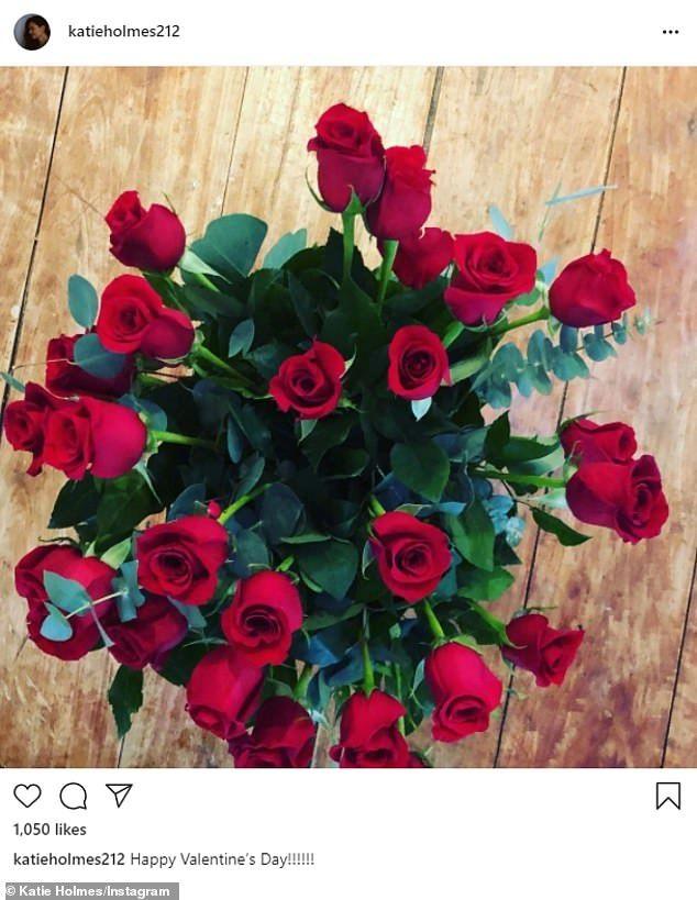 باقة زهور نشرتها كاتي علي إنستجرام